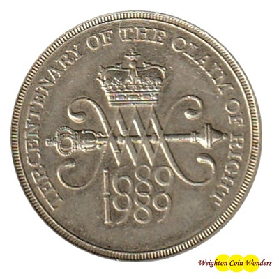1989 £2 Coin - Tercentenary of the Claim of Right